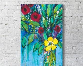 Canvas Print - Carol's Bouquet - 20x30