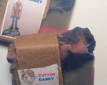 Cotton Candy Cold Process Vegan Soap