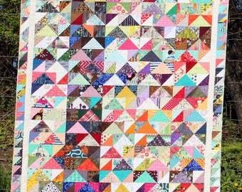 Caravan of Geese Quilt Pattern