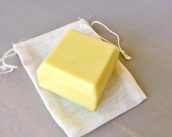 Uplifting Calming Refreshing 2oz Lotion Bar, Peppermint Blended Essential Oil, All Natural ingredients