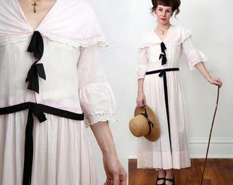 SALE Pink Edwardian Dress Medium/ Large