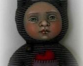Kiki OOAK Original Artist Cat Doll