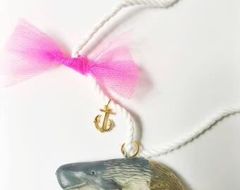 Whale Necklace. Kids Whale. Girls Jewelry. Kids Necklace. Whale Jewelry. Kids Jewelry. Girl Gift. Childrens Jewelry. Animal Necklace.