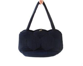 Vintage 40s Purse | Corde Handbag | 1940s Bag