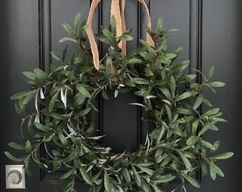 ReservedSPRING WREATH, PEACE Wreath, Peace On Earth Wreath, Olive Branches, Wreath, Olive Branch Wreath, Wreaths, Wreath with Olive Branches