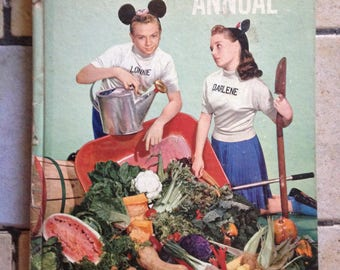 1957 Mickey Mouse Club Annual Children's Book