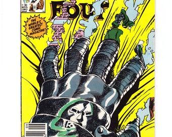 1961 Series #258 Fantastic Four Comic Book in Very Fine Condition