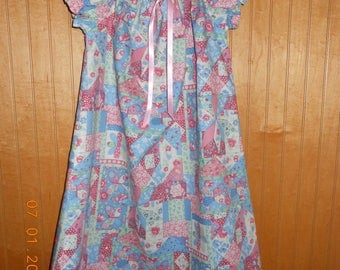 nightgown size 4/5 patchwork