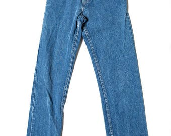 The Vintage GAP Blue High Waisted Jeans Size 24