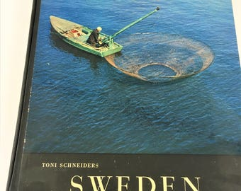 Sweden: a Rhapsody in Pictures ~ Vintage Book ~ Educational Book ~ Pictorial Book ~ Pictures of Sweden ~ History Book ~ Prince Wilhelm