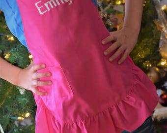 Personalized Aprons for Girls and Boys