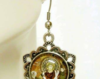 Archangel Raphael earrings - AP03-204