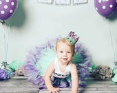 Mermaid Birthday Outfit | Birthday Outfits | 1st Birthday Outfit | First Birthday Outfit | Cake Smash Outfits | Tutu Dress | Birthday Tutu
