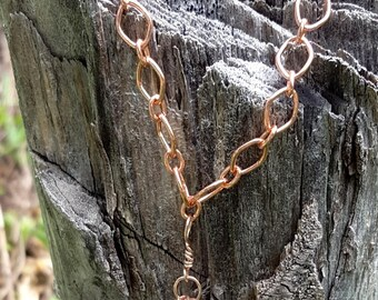 Copper Crystal necklace