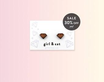 Tiny Diamond Studs, Earrings Gift Sister, Gift for Her, Dainty Earrings, BFF Gift, Tiny Studs Earrings, Earrings Gift Girl, Birthday Gift