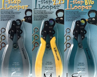 BeadSmith 1 Step Looper Pliers Automatic Eye Pin Making Tool THREE different sizes. Your choice! Make perfect eye pins. Easy to use!