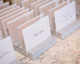 Place Card Holders For Wedding Event Escort Display Cards Guests Seating Table Finder