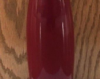 Taller Burgundy Flour Vase