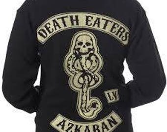 Death Eaters Hoodie - Harry Potter Sons of Anarchy biker jacket