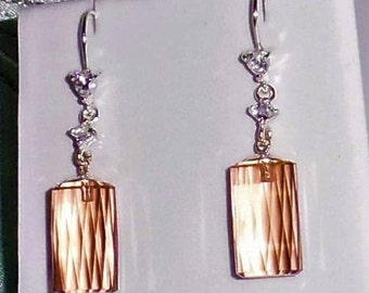 40 cts Natural Round Briolette MORGANITE gemstones, SOLID sterling silver Pierced Earrings