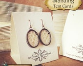 Free Standing•Tent Cards•EARRING CARDS•Jewelry Cards•Earring Display•Earring Card•Earring Holder•Necklace Card•Combo Card