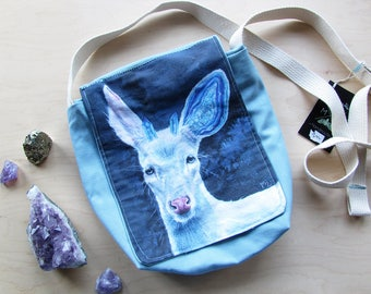 Deer Side Bag - Achates Field Bag Purse