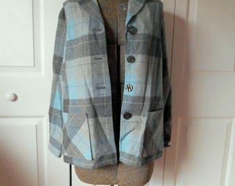 Vintage small Wool Pendleton shirt Jacket