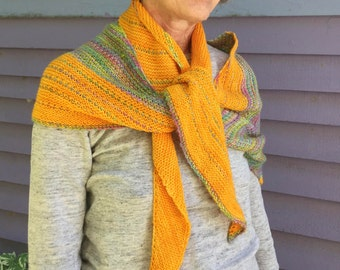 Long merino scarf