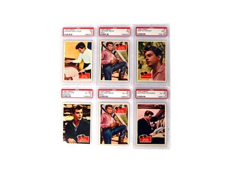 1959 Fabian Collectors Cards, Fabian PSA Graded