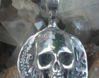 Pirate Dablune Replica Sterling Silver Pendant.Men's pirate Jewelry.Pirate Jewelry.Pirate Jewelry for men.Nautical Jewelry.Sailors Jewelry