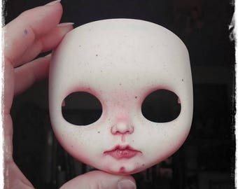 """Custom Blythe """"Real Girl"""" Doll FACEPLATE  by Antique Shop Dolls"""