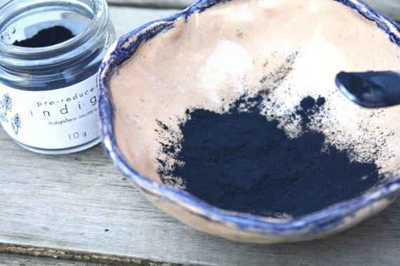 Indigo Dye Vat Collection, Pre Reduced Indigo, Thiourea Dioxide, and Soda Ash