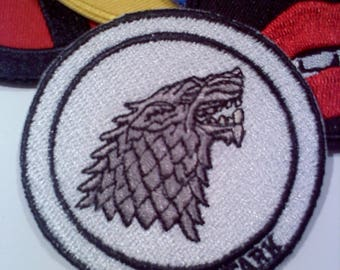 Game of Thrones Inspired Iron On Patch- STARK