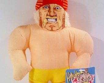 "WWF Wrestling HULK HOGAN 6"" Plush"
