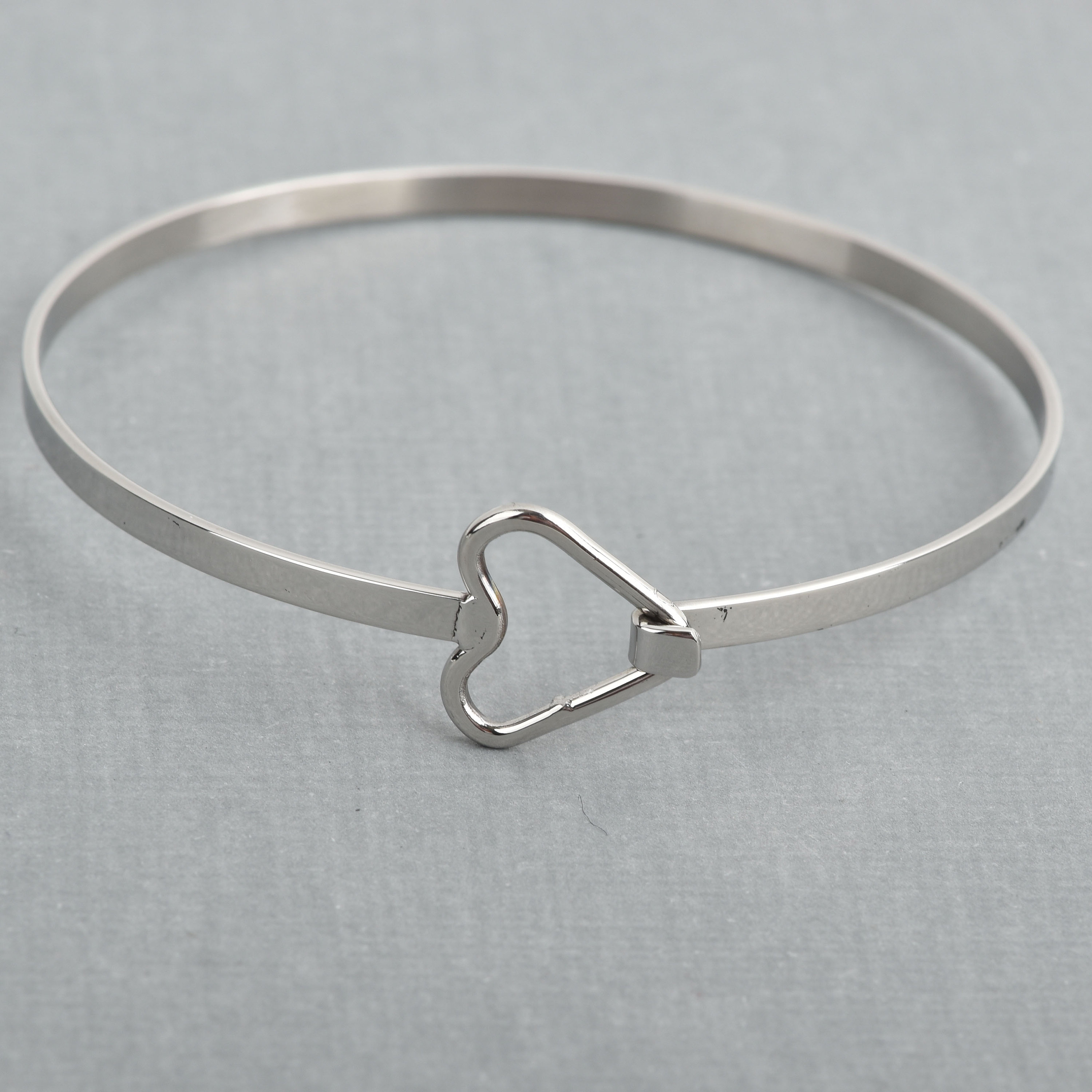 bangle and jewelry stainless steel engraved kd charm bunny eg name bangles bracelets heart