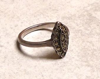Vintage Classic Marquisite Ring