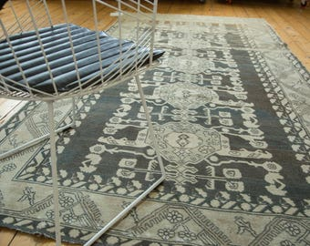 5.5x10.5 Vintage Distressed Kula Carpet