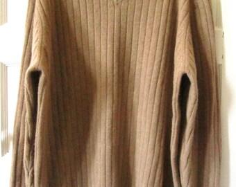 Men's Brooks Brothers Merino Wool Cashmere Sweater XL