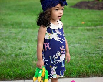 Sparrow's Baby A-Line Halter Top, Tunic, and Dress PDF Pattern Sizes newborn to 18/24 mos.