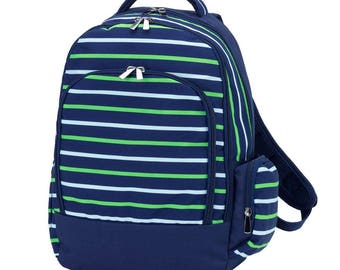 Shoreline Backpack * Monogrammed FREE * / Large Boys Backpack / Personalized Backpack / Back to School Gear / FREE Personalization