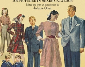 Everyday Fashions of the Forties Book