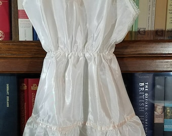 Full Petticoat Slip for Little Girl 1950s - Adorable!