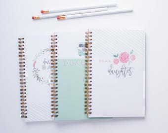 Letters to My Baby Notebook. Letters to My Daughter Notebook. Letters to My Son Notebook. Baby Journal. New Mom Journal.