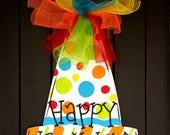 Birthday Banner   Birthday Invitations   Birthday Decorations   Birthday Sign   Birthday Door Hanger   Birthday Decor