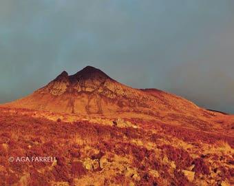 Mountain Photography, Bedroom Wall Decor, Scottish Art, Bedroom Wall Art, Large Photography, Mountain Wall Art, Bedroom Wall Art