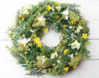 Front door wreaths, summer wreath, outdoor wreath, gift ideas