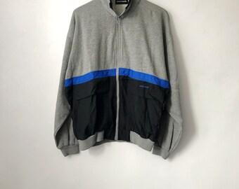 vintage pierre cardin track jacket mens size large 90s