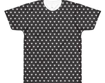 Men's All-Over Printed T-Shirt - Brightside Heart