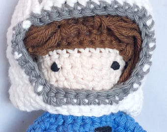 Sally Ride Astronaut Stuffed Doll - Sally Ride NASA Amigurumi Doll - First American Woman in Space