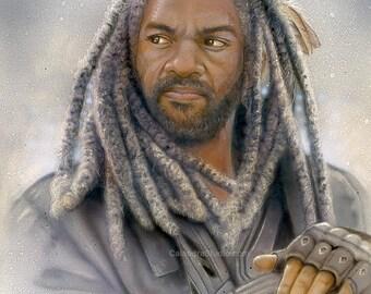 King Ezekiel 11x14 Print